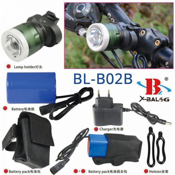 Велоліхтар Bailong BL-B02B-T6