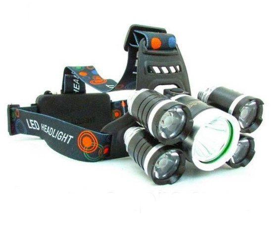 Ліхтар на чоло BL-V25-T6+4XPE