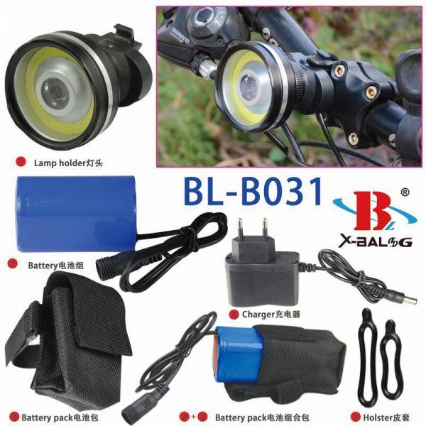 Ліхтар на велосипед Bailong BL-B031-COB