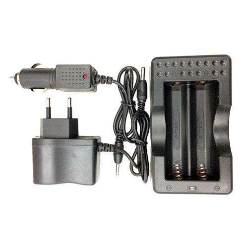 Зарядний пристрій 403, 2*18650 від 220V або 12V
