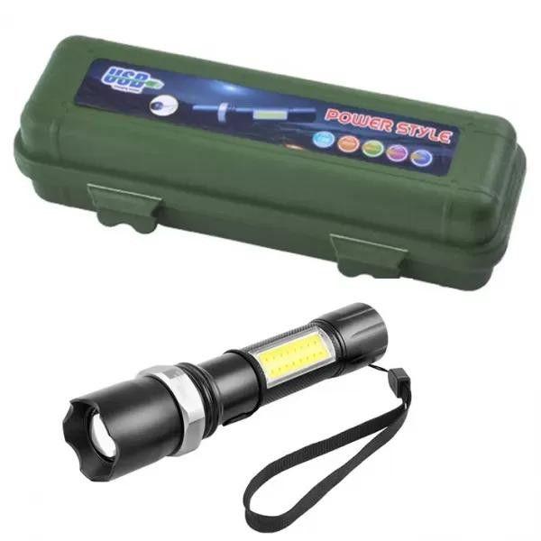 Тактичний ліхтар Police W546-XPE+COB