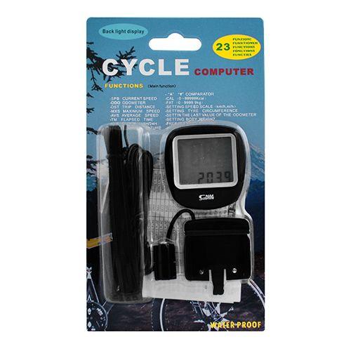 Велокомпьютер SD-568 с подсветкой экрана, waterproof
