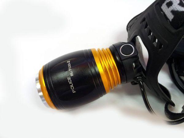 Налобный фонарь пчеловода Police T620-2 (белый + красный)