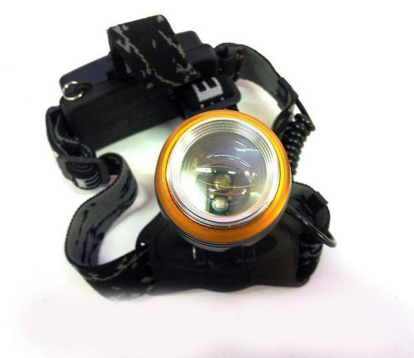 Налобний ліхтар с ультрафіолетом Bailong Police BL-T620
