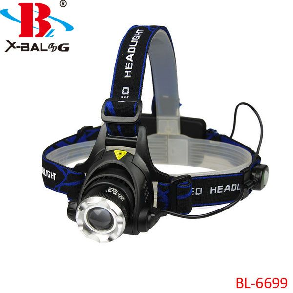 Ультрафіолетовий налобний Ліхтар Bailong Police BL-6699-2 UV