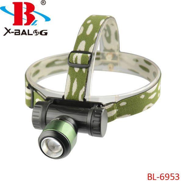 Ультрафіолетовий налобний Ліхтар Bailong Police BL-6953