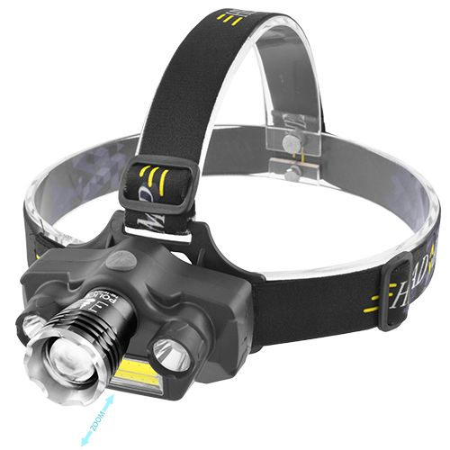 Налобный фонарь Police TD-811/745-T6+2XPE+COB