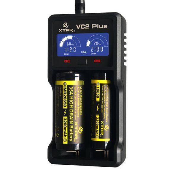 Зарядное устройство XTAR VC2 PLUS