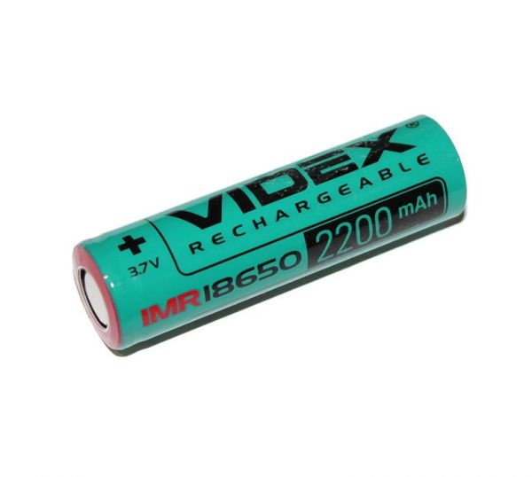 Аккумулятор Videx 18650(высокотоковый) 2200mAh 22A