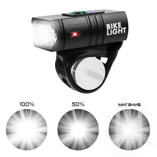 Велофонарь BK-01Pro-XPE ULTRA LIGHT, ALUMINUM