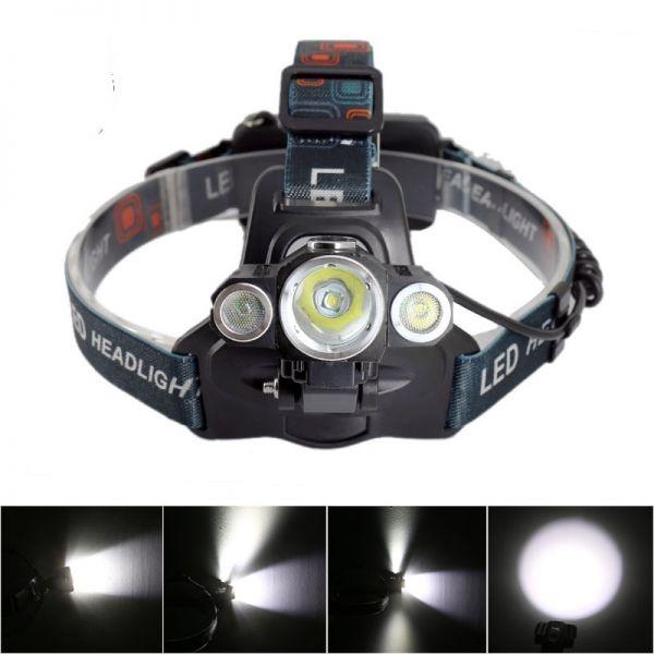 Налобний ліхтар Police BL-1825-T6 + 2R5