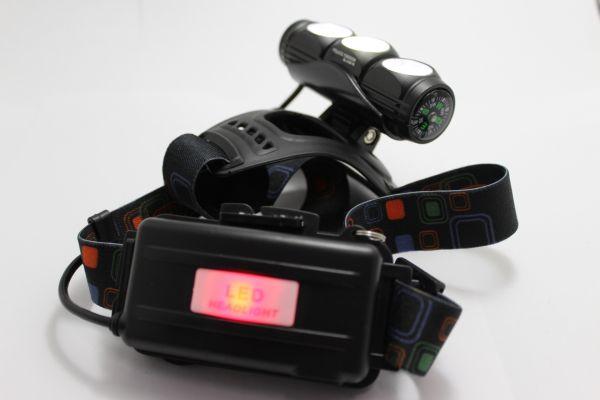 Ліхтар налобний Bailong Police BL-2155-T6