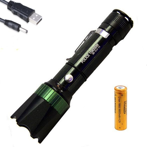 Ліхтар тактичний Bailong HB-313-T6 USB V2