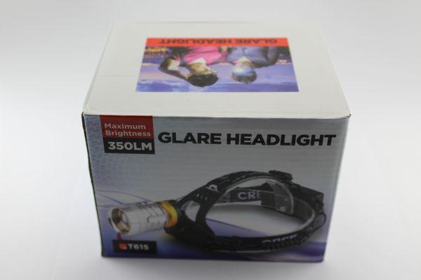 Налобный фонарик Bailong BL-615-2 UV
