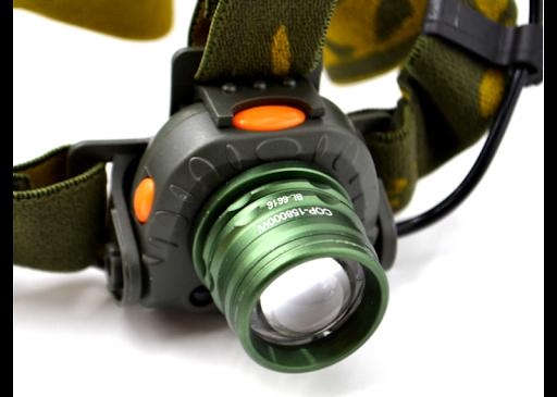 Налобный фонарь BL-6616 XPE датчик движения