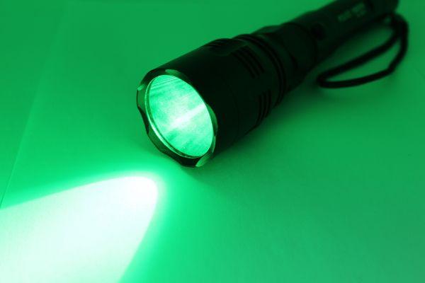 Ліхтар підствольний Bailong Police BL-Q8610-GREEN ( зелене світло )