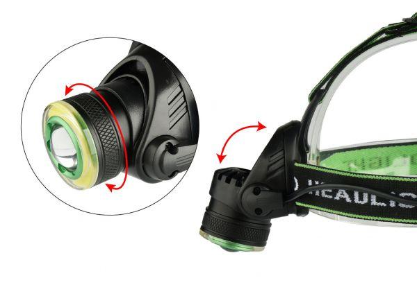 Налобный фонарик Bailong BL-6677 USB V2