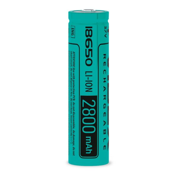 Акумулятор Videx Li-Ion 18650 (плата захисту) 2800mAh