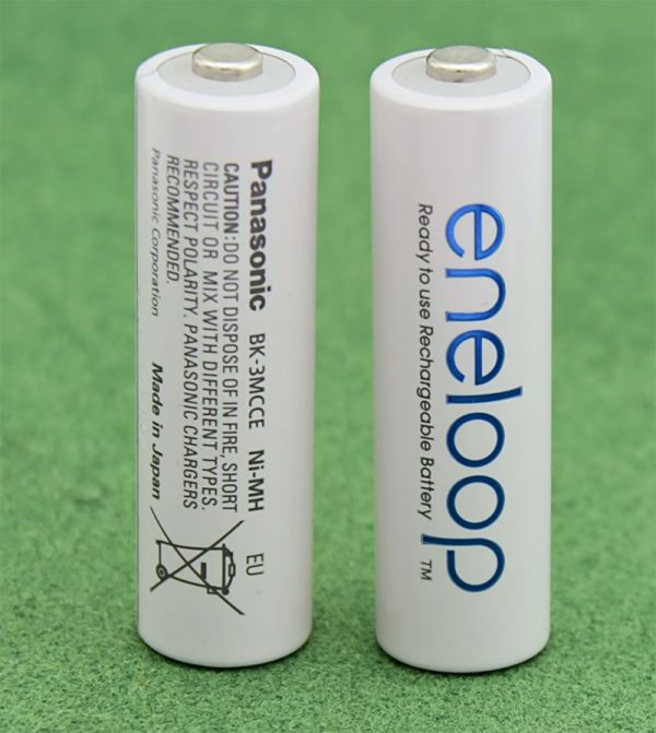 Аккумулятор Panasonic Eneloop BK-3MCCE/BF1, AA/(HR6), 1900mAh, LSD Ni-MH