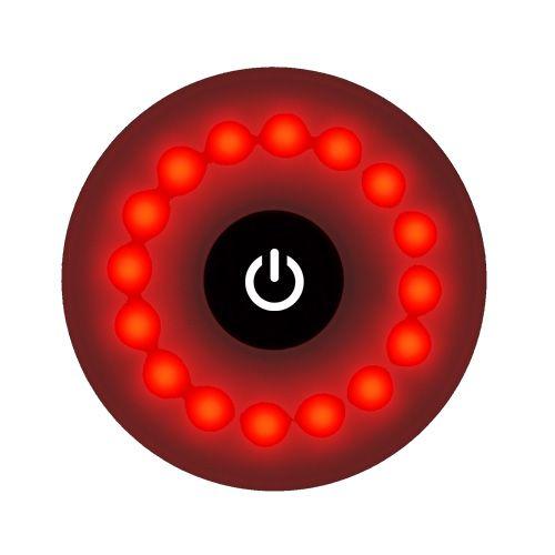 Ліхтар велосипедний T05-16LED (red),