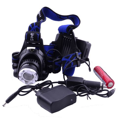 Налобный фонарик Bailong Police 204С-T6 28000W