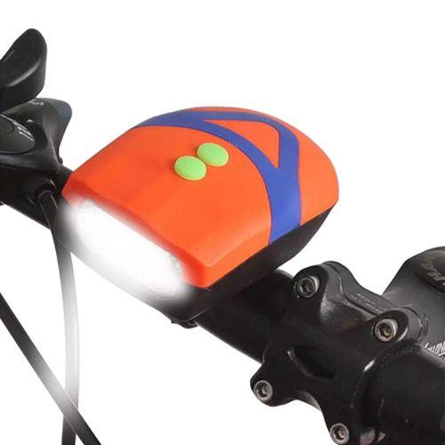 Велосипедный звонок + велофара FY-037-3LED