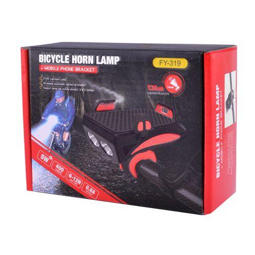 Ліхтар велосипедний FY-319-2LM(5W)