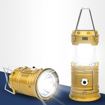 Ліхтар кемпінг XF-5800T 6+1LED