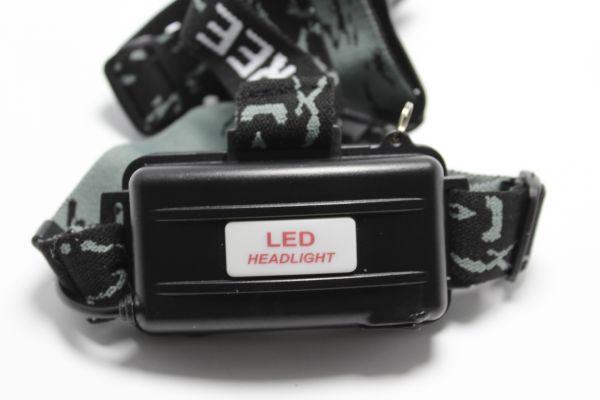 Налобний ліхтар с ультрафіолетом Bailong Police D22-2
