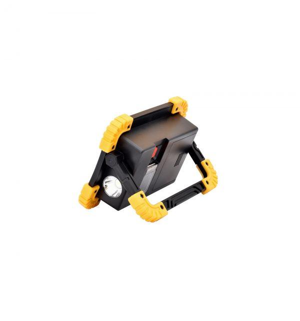 Прожектор светодиодный LL802-20W-2COB+1W