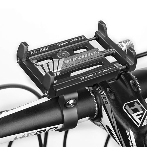 Велосипедний тримач для телефону  BG-090, ALUMINUM