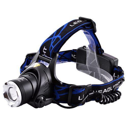 Налобный ультрафиолетовый фонарик Police 204С-UV