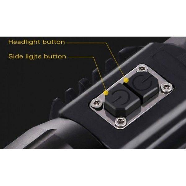 Фонарик ручной с подсветкой Police T6 WD-292 LED