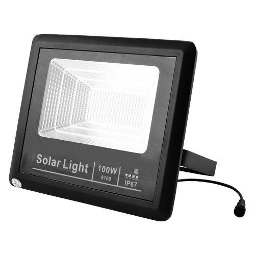 Прожектор 9100 100W SMD, IP67, солнечная батарея