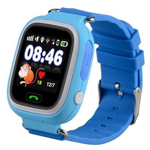 Smart годинник дитячій с  GPS Q90 Blue
