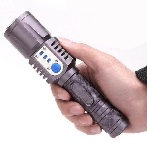 Ліхтарик X-Balog Police C20-XM-L2  USB Power Bank