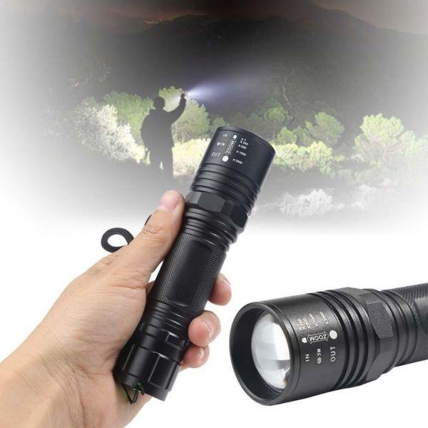Тактичний ліхтар Bailong BL-T67-T6