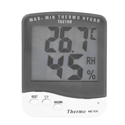 Термометр с гигрометром TA218D