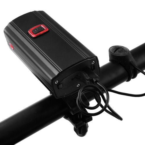 Велозвонок + фара 581-A-2L2 ULTRA LIGHT