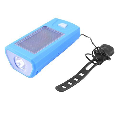 Велозвонок + фара FY-316-XPE, солнечная батарея, выносная кнопка
