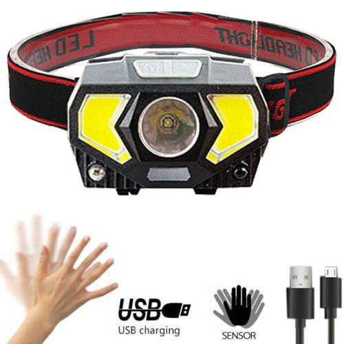 Налобный фонарь W-7707/JQ-2201 датчик движения
