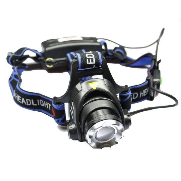 Ультрафиолетовый налобный фонарь Bailong Police BL-6699-2 UV