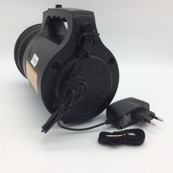 Фонарь переносной TD-6000A-30W-T6, ЗУ 220V, встроенный аккумулятор