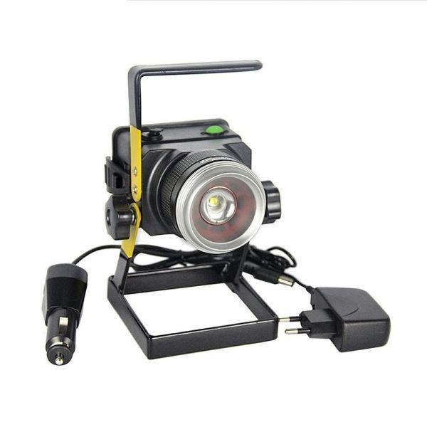 Переносной фонарь Bailong Police BL-2144 (T6+UV)