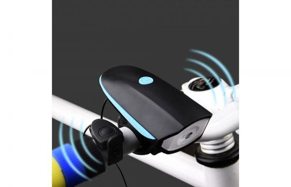 Велосипедный звонок + велофара 758 Bailong