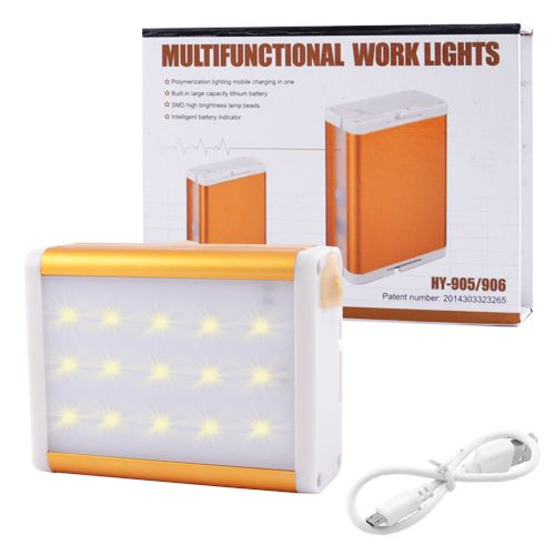 Power Bank 10000 mAH 905-15SMD c LED-панелью