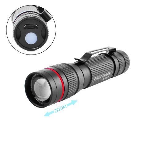 Фонарь Police B518-XPE micro USB