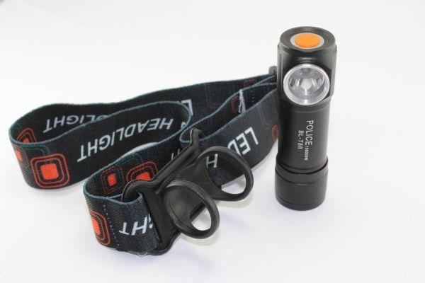 Налобный фонарик Bailong Police BL-T88