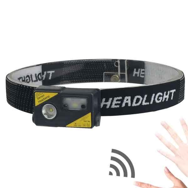 Ліхтарик налобний BL-180 COB Sensor