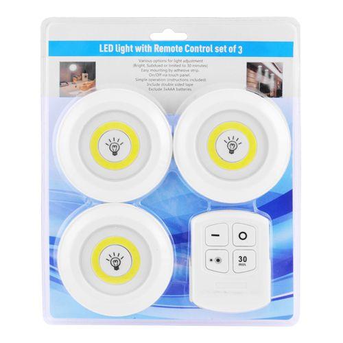 Комплект светодиодных подсветок с пультом ДУ ночник